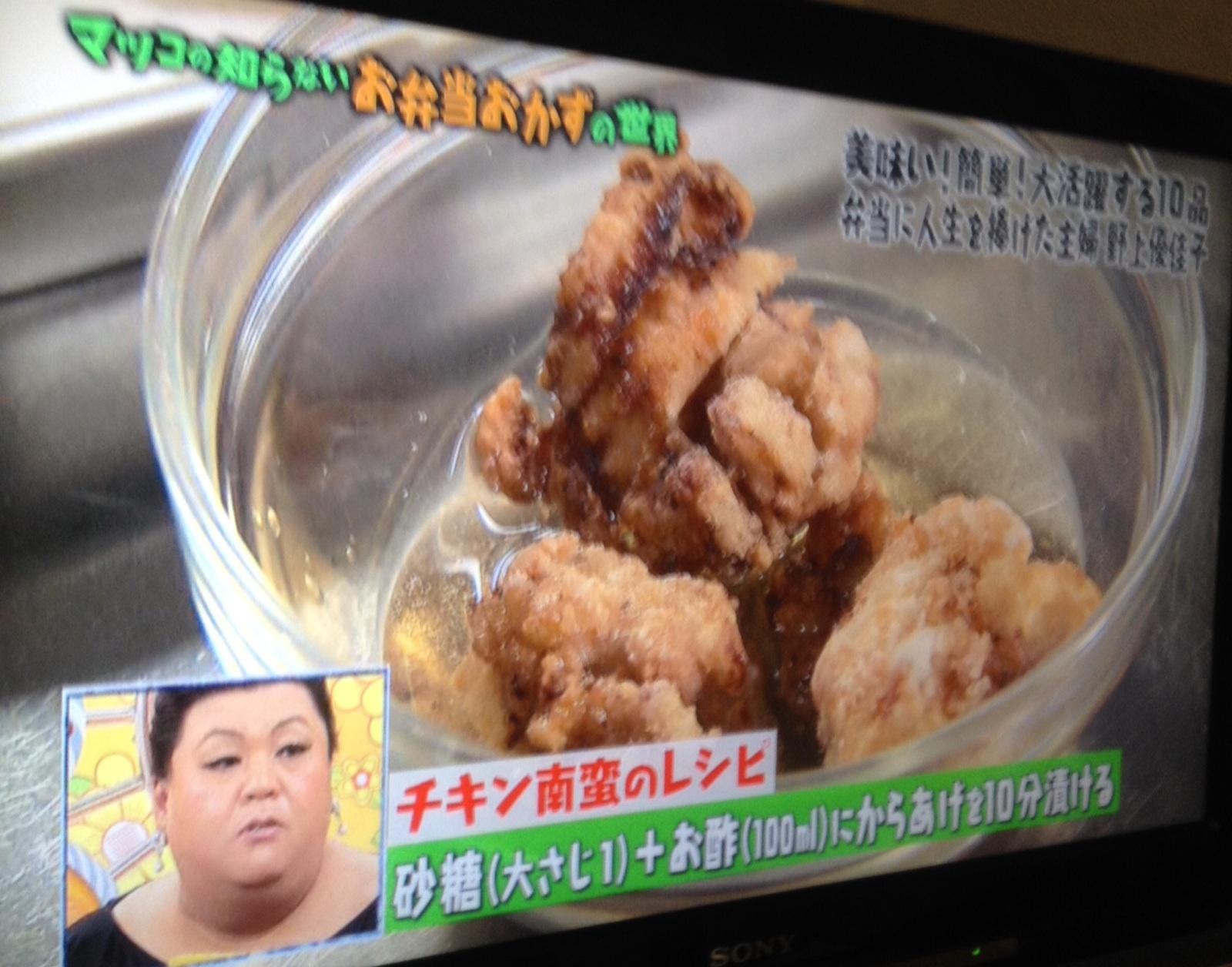 マツコデラックス×マツコの知らない世界×唐揚げレシピ2