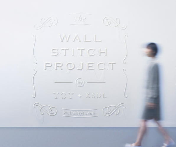 YOY(ヨイ)×刺繍×「WALL STITCH PROJECT」